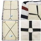 Crisscross Bed Fitted Sheet Straps Suspenders Gripper Holder