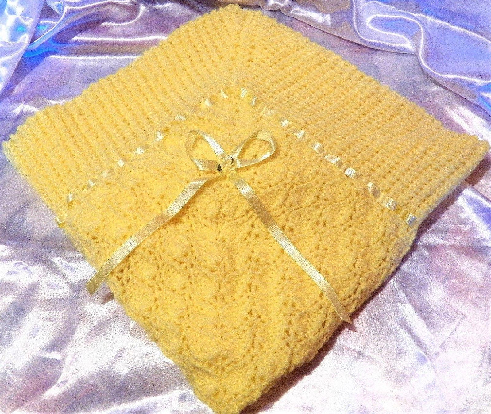 crochet baby reborn doll blanket throw afghan