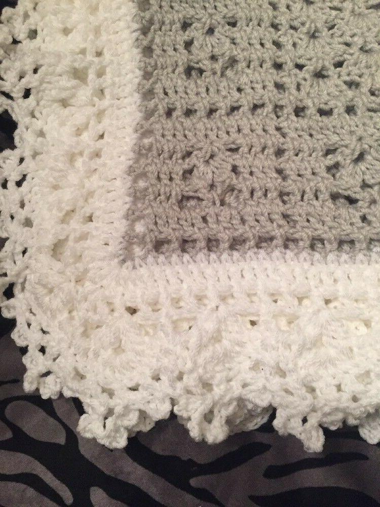 Crochet Dreams Blanket And White Help Puppy!!!