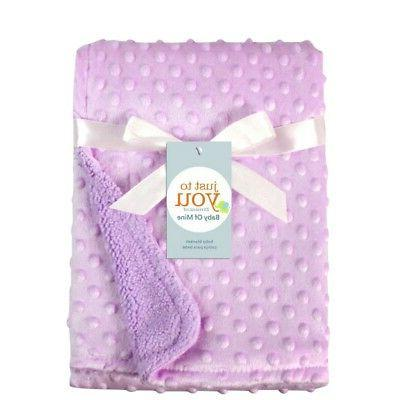 Baby Soft Blanket Pram Moses Boy