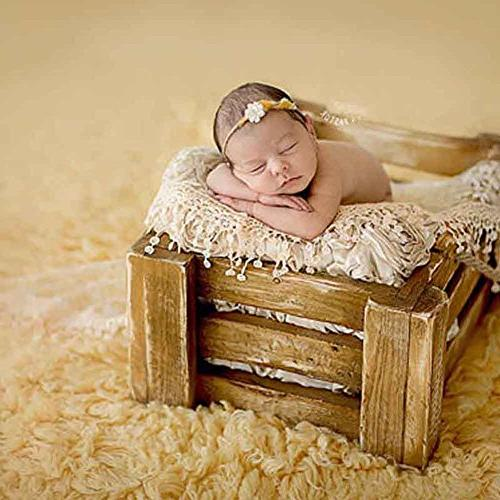 CHUANGLI Cute Newborn Photography Baby Pictures Prop Nylon Blanket