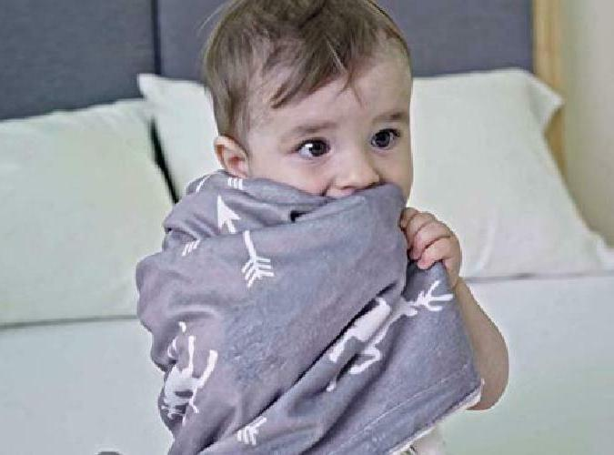 Deer Baby for Boys Girls, Grey Unisex, with