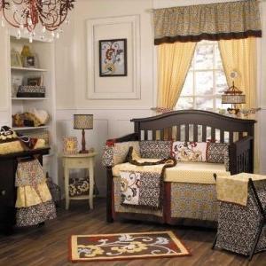 delilah baby crib bedding set