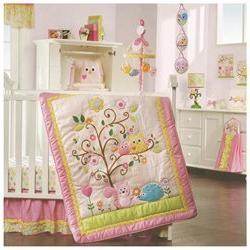 Lambs & Ivy Dena Happi Tree 8 Piece Crib Bedding Set
