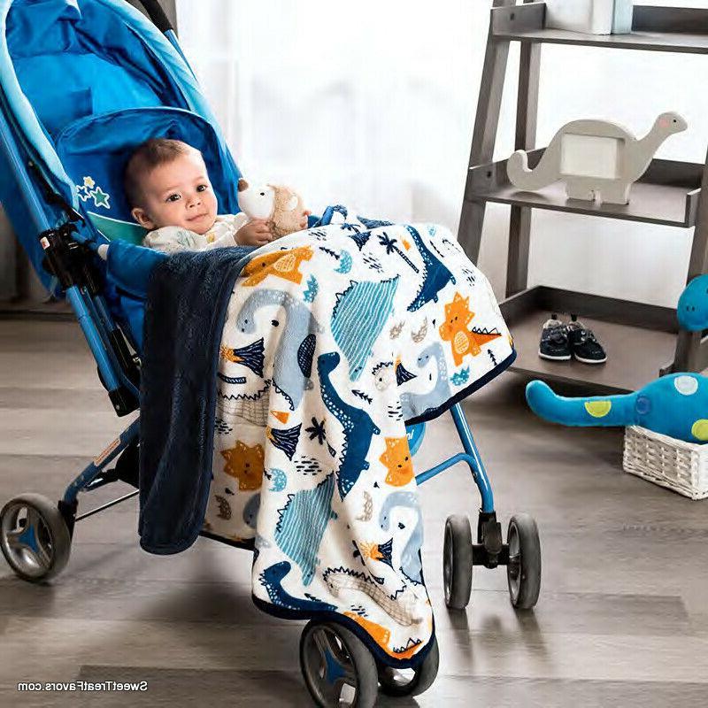 dino dinosaur blanket comforter fleece throw soft