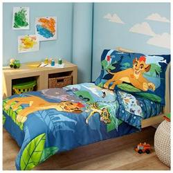 Disney Lion Guard Prideland Adventure 4 Piece Toddler Bed Se