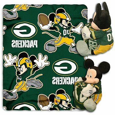 Green Bay Packers Disney™ Mickey Hugger Throw