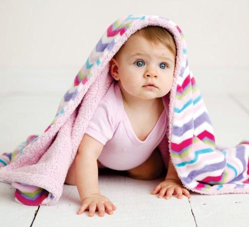Hudson Baby Blanket, Blue