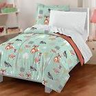 Dream Factory Casual Woodland Friends Comforter Set Twin Gre