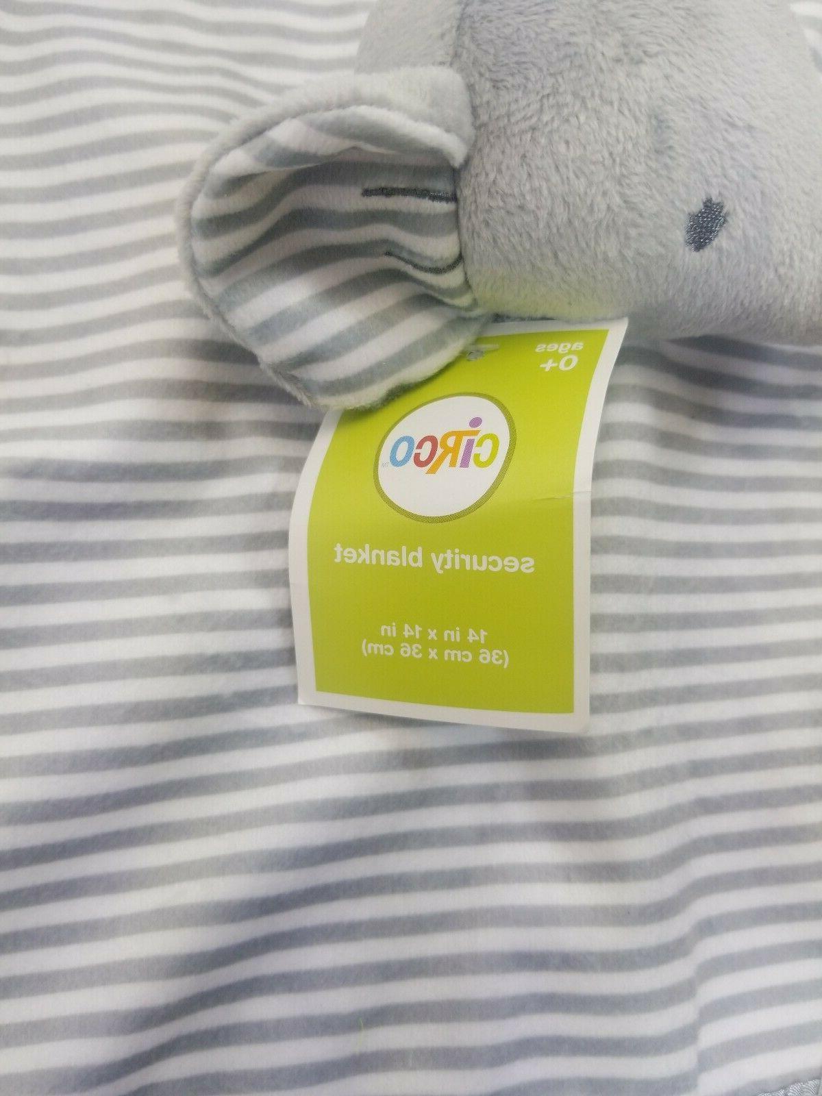 "Circo Baby Security Blanket 14"" Gray Color & Silky"