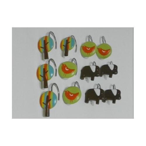 elephant shower hooks