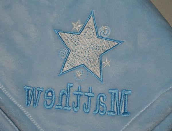 Embroidered Monogrammed Baby Tahoe Fleece Soft &/or