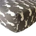 Danha Premium Fitted Cotton Crib Sheet With Deer Print – S