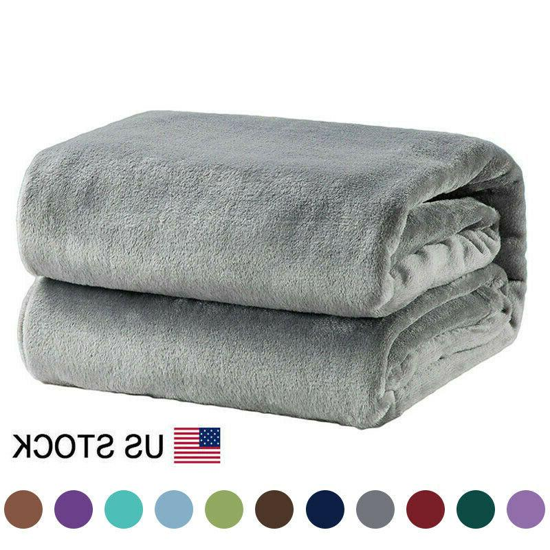 flannel fleece blanket plush blanket throw bed