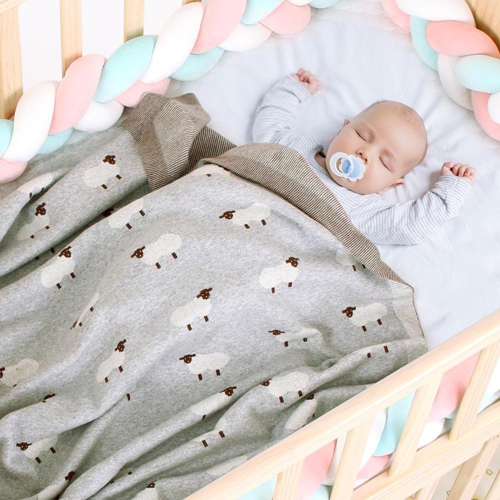 <font><b>Baby</b></font> <font><b>Blankets</b></font> Cartoon Wrap <font><b>Blanket</b></font> Soft Cotton <font><b>Kids</b></font> Stroller Covers 100*80cm