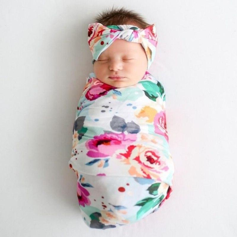 <font><b>Baby</b></font> Swaddle <font><b>Blanket</b></font> <font><b>Baby</b></font> Toddler Girl Boys <font><b>Blanket</b></font> Infant Wrap Headband