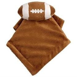 Koala Baby Football Blanket & Security Blanket Set