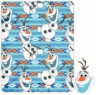 frozen big face olaf character pillow