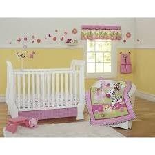 Garanimals Sunny Safari 3-Piece Crib Bedding Set