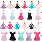 HOT 2-12 Years Girl  Ballet Dance Skating Dress Wear Leotard