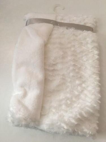 Blankets Beyond Baby Girl White Mink