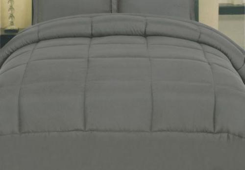 Luxury Reversible Premium Down Alternative Comforter 6 Sizes 10