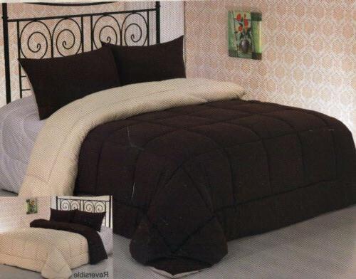 Luxury Reversible Down Comforter 6 Sizes