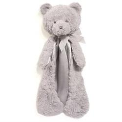 GUND Grayson the Plush Gray Teddy Bear Huggybuddy Baby Blank