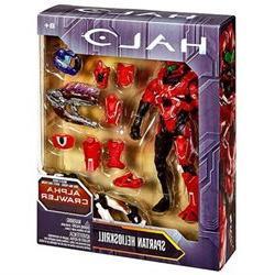 Halo Alpha Crawler Series 6 inch Action Figure - Spartan Hel