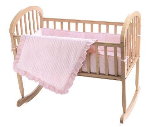 American Baby Company Soft Dot Cradle American Company