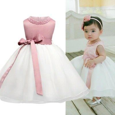 Infant Baptism Christening Dress Party Tutu