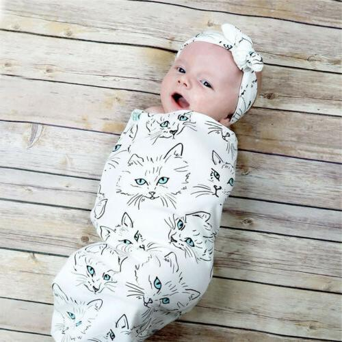 Infant Baby Sleeping Swaddle Wrap