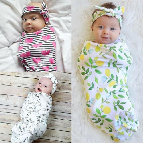infant baby swaddle blanket baby sleeping swaddle