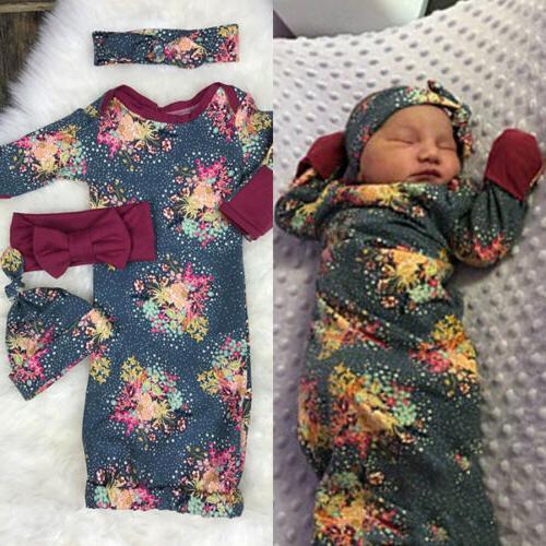 Infant Newborn Boy Muslin Floral