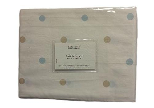 italian dotted bedding collection sheet