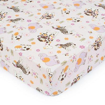 jacana fitted sheet allover print