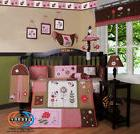 LadyBug Baby Girl Nursery CRIB BEDDING SET 14PCS Including M