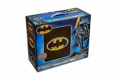 Licensed DC Comics Batman Emblem Dark Knight Plush Baby Size