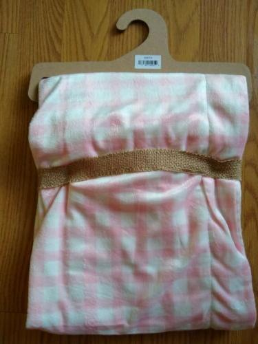 LILA & Blanket Stripes Pink Lovey NEW