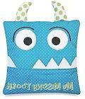 Little Boys Blue Tooth Fairy Pillow by Almas Designs