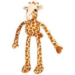 FAO Schwarz 21-inch Long-Legged Giraffe - Orange and Cream