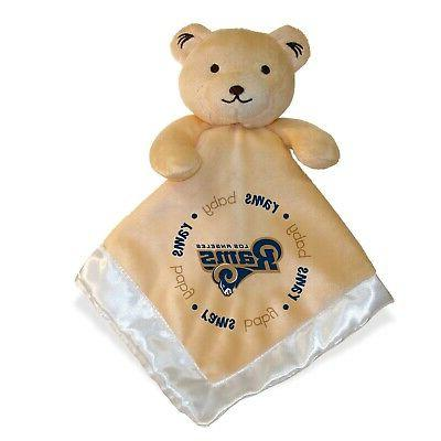 los angeles rams security bear blanket