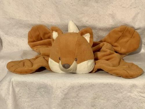 lovey 4050778 rococo fox huggybuddy blanket