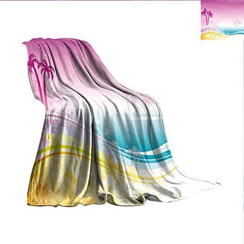 luau super soft lightweight blanket