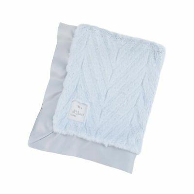 luxury plush chevron blanket