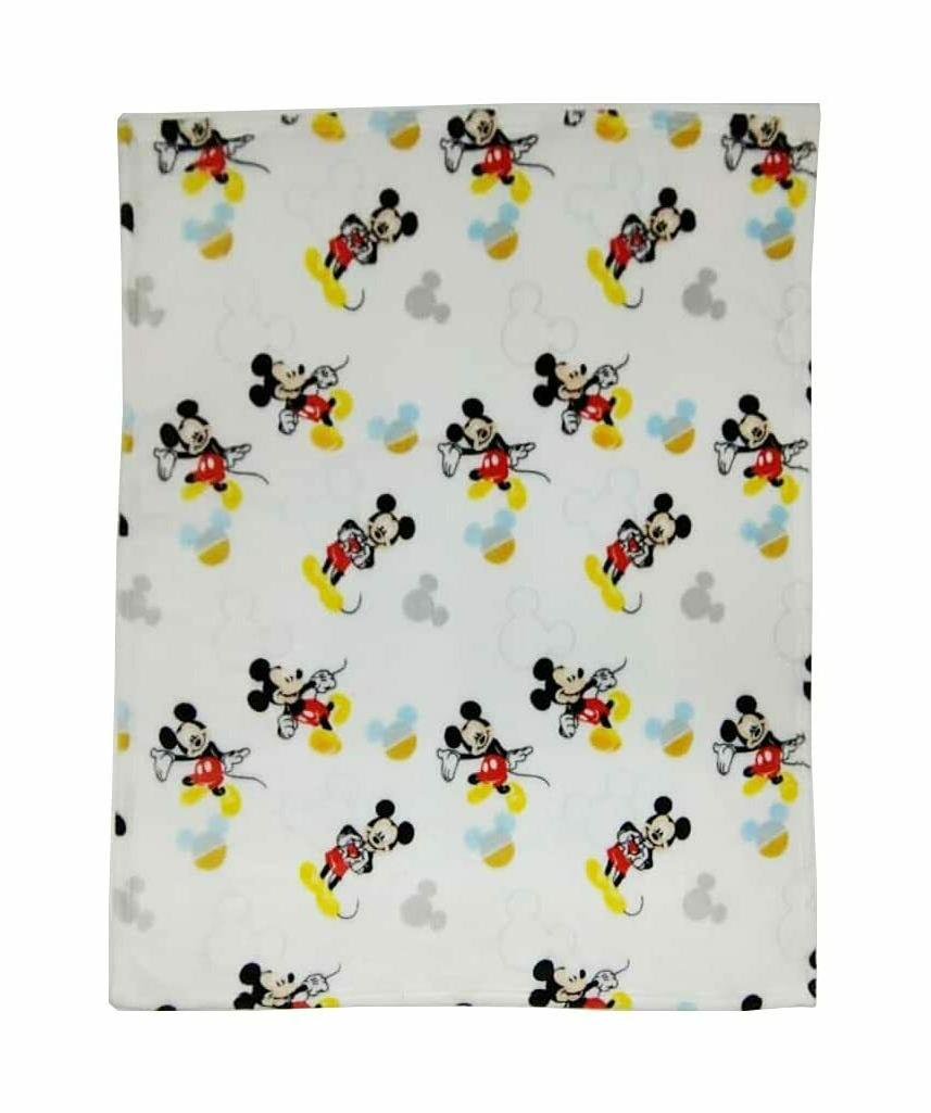 mickey mouse blanket 1 ply flannel fleece