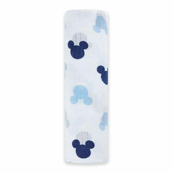 Mickey Mouse Muslin Swaddle Blanket Boy Anais Disney