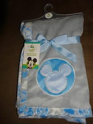mickey mouse novelty baby blanket 30 x30