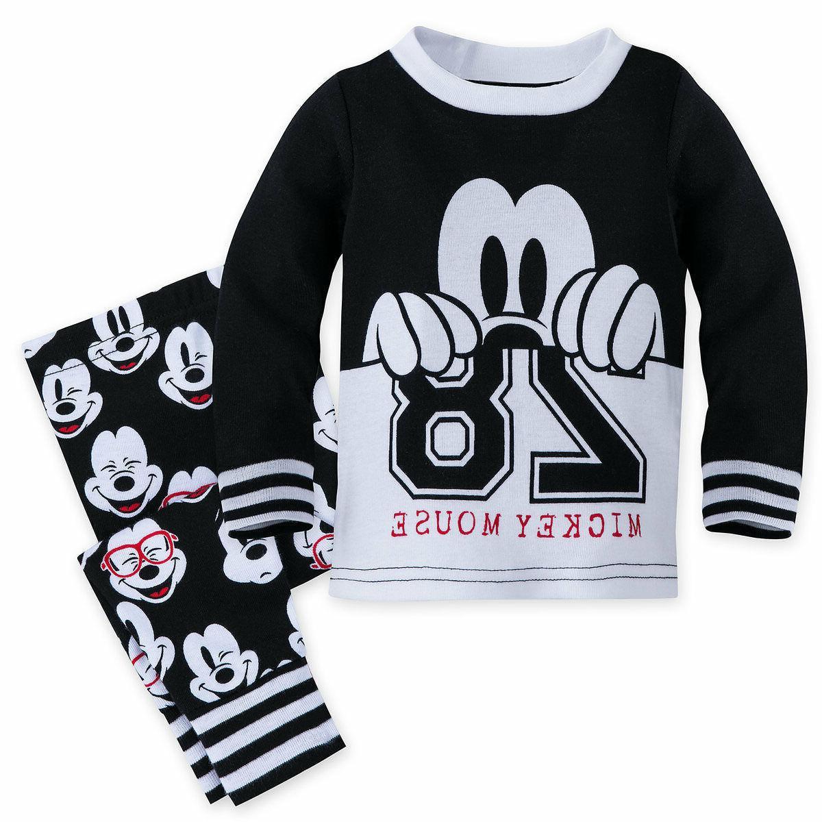 mickey mouse pj pals pajamas baby boys