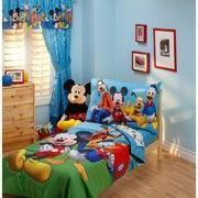 Disney Mickey Mouse Playground Pals 4-piece Toddler Bedding